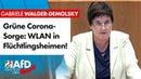 Grüne besorgt wegen WLAN in Flüchtlingsheimen! – Gabriele Walger-Demolsyk AfD