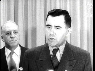 Gromyko Arrives For UN Meeting (1958)