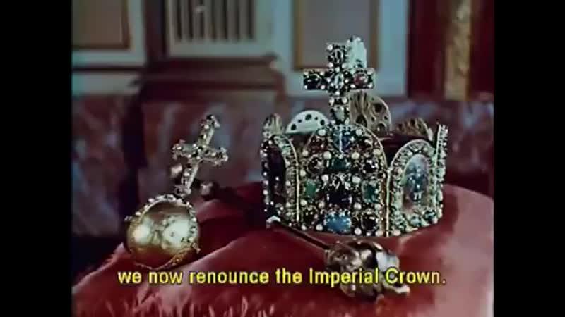 Emperor Franz II renounces the Crown of the Holy Roman Empire