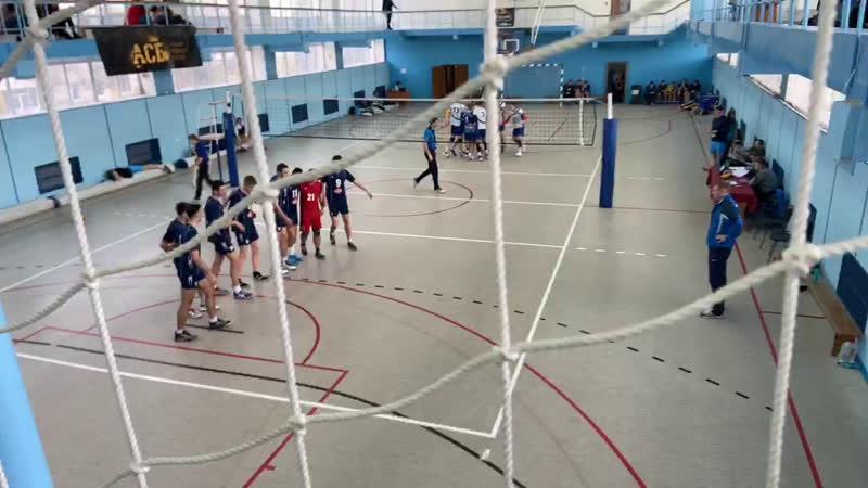 Межрегиональный студенческий турнир по волейболу.ДонНУЭТ - БелГАУ