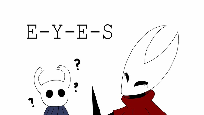 What does e y e s spell Hollow Knight Animatic