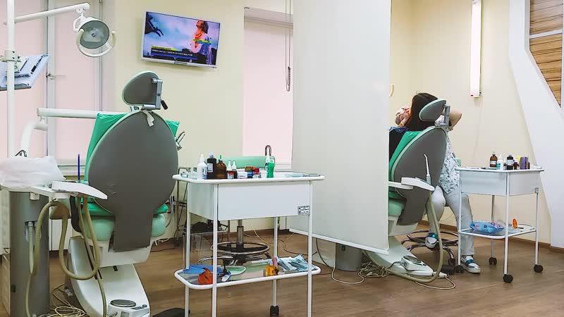 в кабинете стоматолога. Один день из жизни клиники