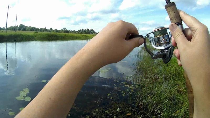 Холодное лето 2019 года Рыбалка в деревне Часть вторая