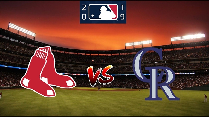 Boston Red Sox vs Colorado Rockies August 28 2019 Regular Season 2019 MLB Full Game
