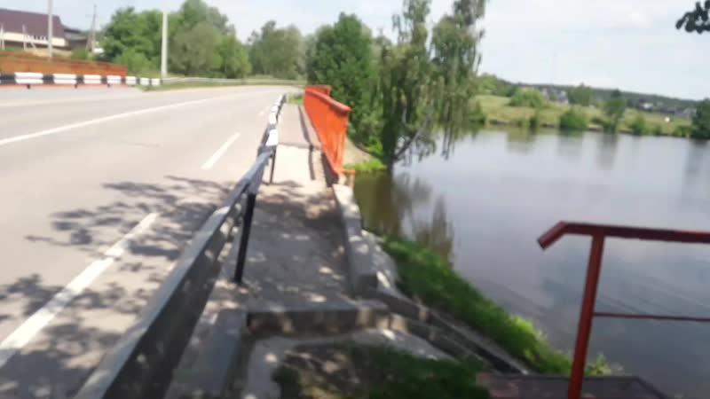 Речка в деревне Беляево