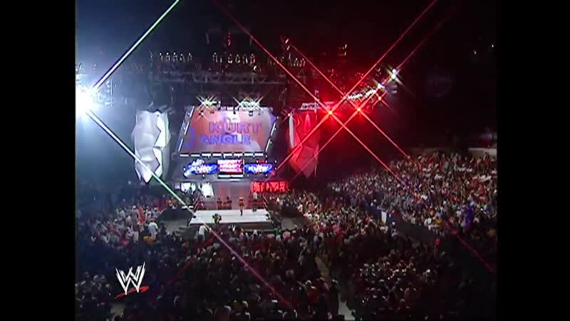 Eight Man Tag Team Match WWE Raw 9/19/05