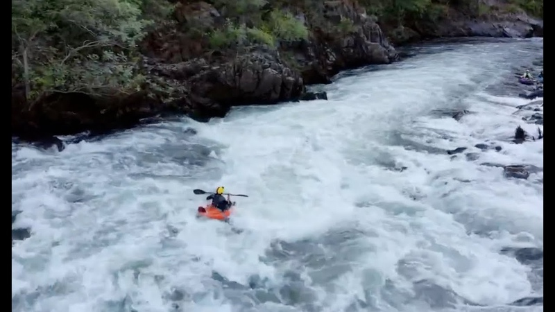 Merced River Inflatable Kayaking