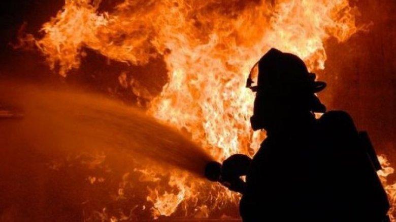 В Карачаево-Черкесии загорелось здание на заводе «Холодмаш»