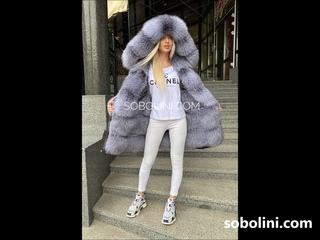 Blue frost   royal fur! Bluefrost parka, very beautiful, full of fur inside! order from us! TM Sobol