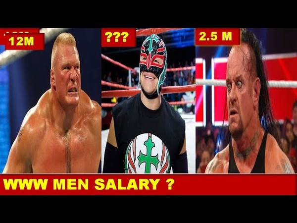 WWE Men Salaries 2019 The Fiend Roman Reigns Brock Lesnar John Cena