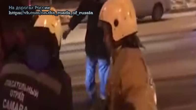В ДТП на Московском шоссе Самары один человек погиб и трое пострадали