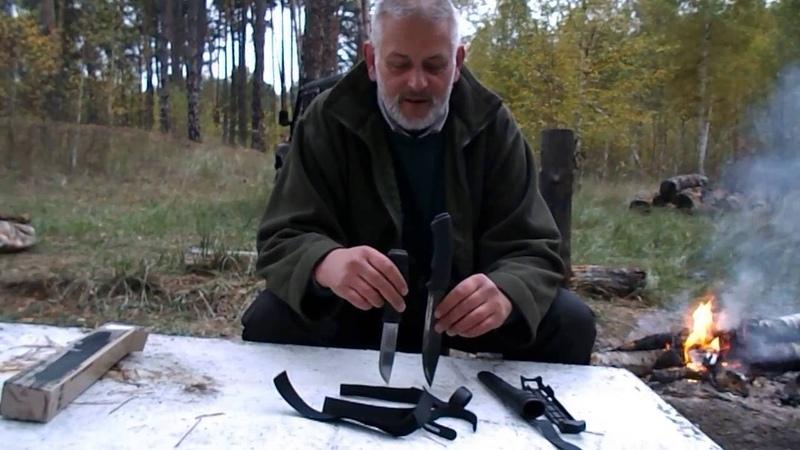 Видеообзор ножа Morakniv Garberg