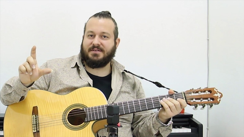 Bossanova Ritmi Gitar Dersi