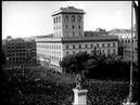 Benito Mussolini dichiara guerra alla Francia e Inghilterra Roma 10 Giugno 1940