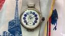 Видеообзор на старинные повседневные часы Georges Ducommun ранняя Doxa