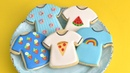 CREATIVE T-SHIRT COOKIES WITH ROYAL ICING