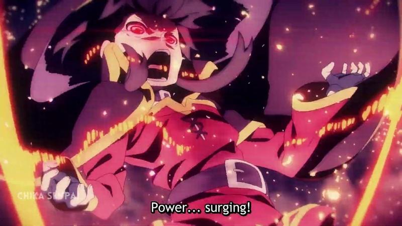 Megumin Yunyun VS Sylvia Amazing Explosion KonoSuba Kurenai Densetsu
