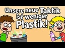 ♪ ♪ Kinderlied Umwelt Unsere neue Taktik ist weniger Plastik Hurra Kinderlieder