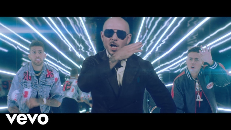 Static Ben El, Pitbull - Further Up (Na, Na, Na, Na, Na) (Official Video)