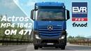 UPDATE SFX Mercedes Benz Actros MP4 1842e6 Engine Voice Records