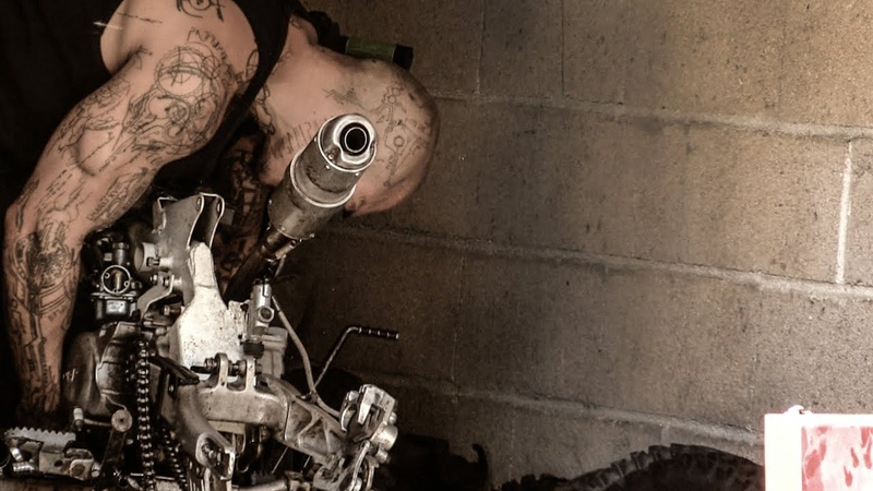 Dirt bike YCF 140 restauration 1