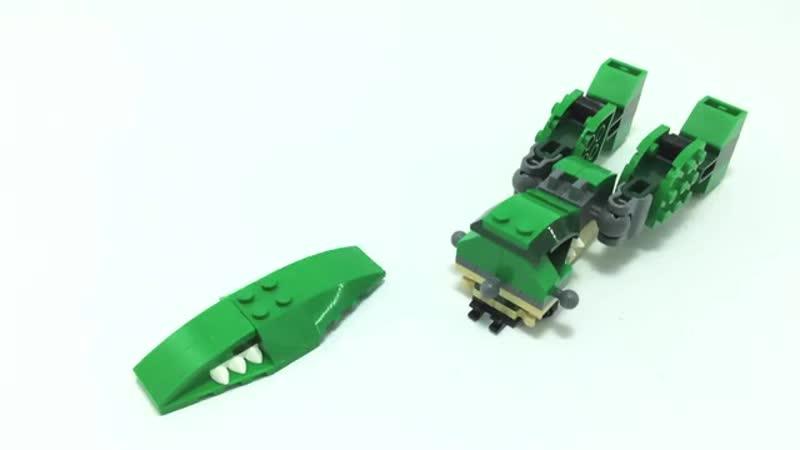 LEGO CREATOR 31058 alternative build tutorial Lego MOC Mech Robot Лего Мех Робот инструкция mp4