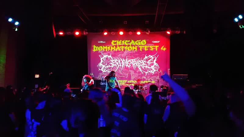 Cephalotripsy Intracranial Butchery Live at Chicago Domination Fest 4