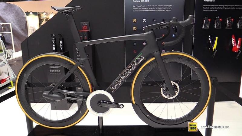 2020 S-Works Ceramicspeed Chainless 99% Efficient Drive Shaft Bike - Walkaround - 2019 Eurobike
