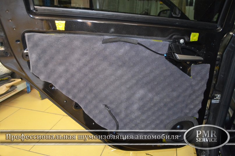 Шумоизоляция Lada Vesta, изображение №12