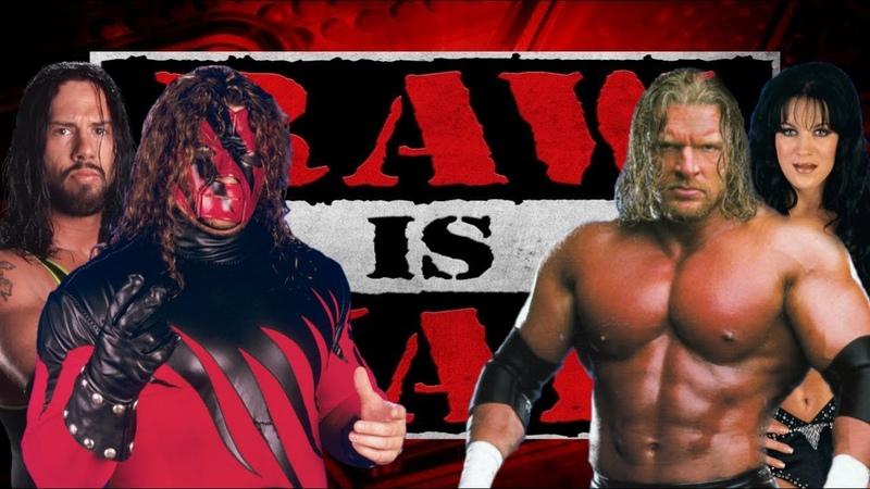 WWE 2K19 Kane /w X-Pac vs Triple H /w Chyna, Raw Is War '99