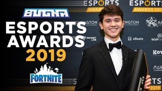 I CAN'T BELIEVE FORTNITE BROUGHT ME HERE - Esports Awards 2019 | Bugha