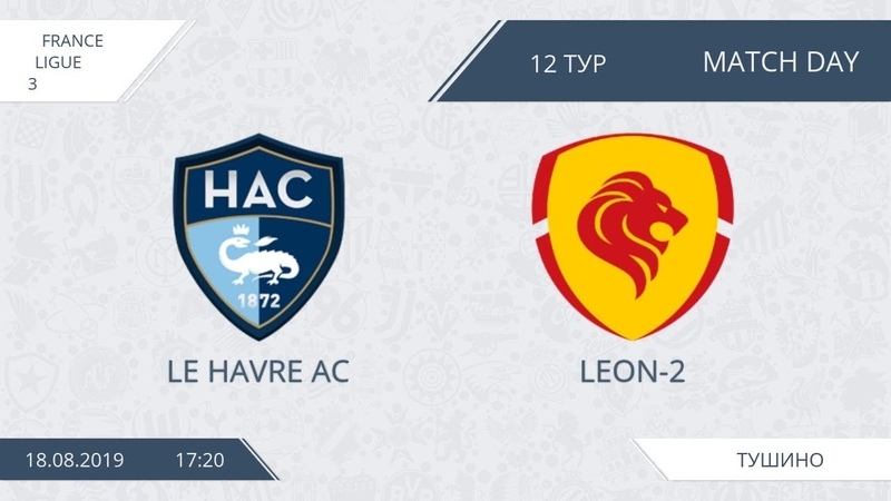 AFL19. France. Ligue 3. Day 12. Le Havre AC Leon 2
