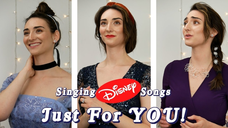 An Opera Singer Sings DISNEY Songs!! 👸 || Cinderella, Tangled, Snow White, And So Much More!