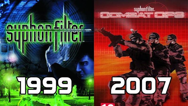 Evolution of Syphon Filter Games 1999-2007