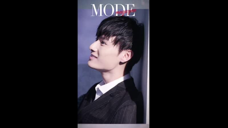 Ван Чжочэн для MODEmagazine