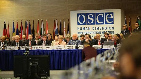 Делегация Украины в ОБСЕ вновь попыталась лишить слова представителя Крыма