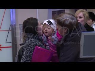 Четырехлетняя София из Стерлитамака, а также двухлетний мальчик Мухамажон отправились на обследование в Израиль.