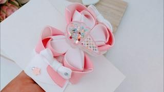 Laço becca mini-PAP - DIY Ribbon Bow Hair