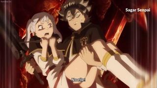 Asta Carries Noelle  Leo Unlocks Rune Magic - Black Clover Episode 133