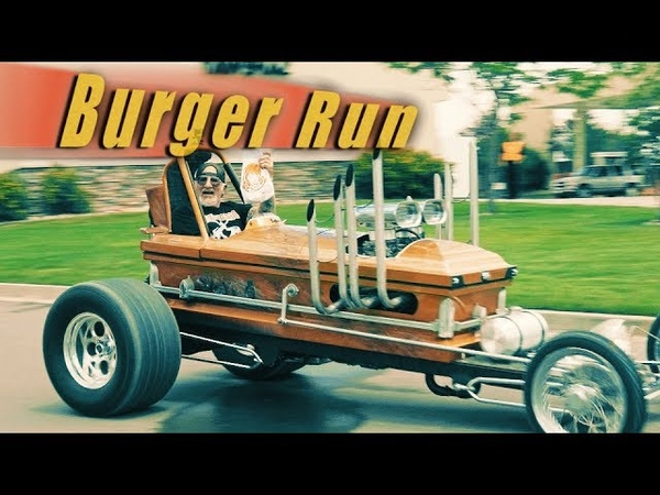 Burger Run with the Coffin Dragster