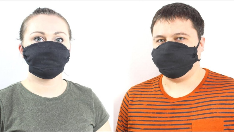Как сделать Маску с Высоким уровнем защиты многоразовую Защитная маска для лица своими руками