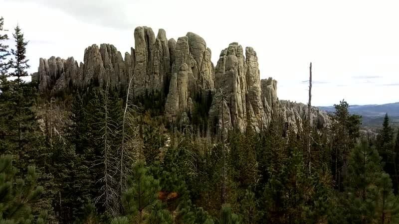 Скалы в Custer State Park США