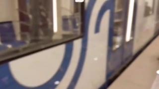. Некрасовская линия. Грязный поезд из-за прорыва плывуна в тоннель.