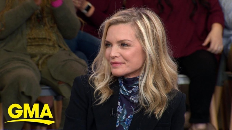 'Maleficent Mistress of Evil' star Michelle Pfeiffer spills secrets on her new role l GMA