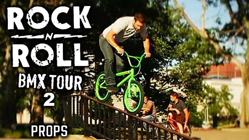 Props BMX Road Fools Rock n Roll Tour 2 Props Visual Full Movie Mat Hoffman Mike Aitken