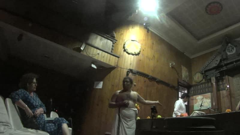 Kerala Kathakali Centre Традиционый южноиндийский театр Катхакали Представление артистов
