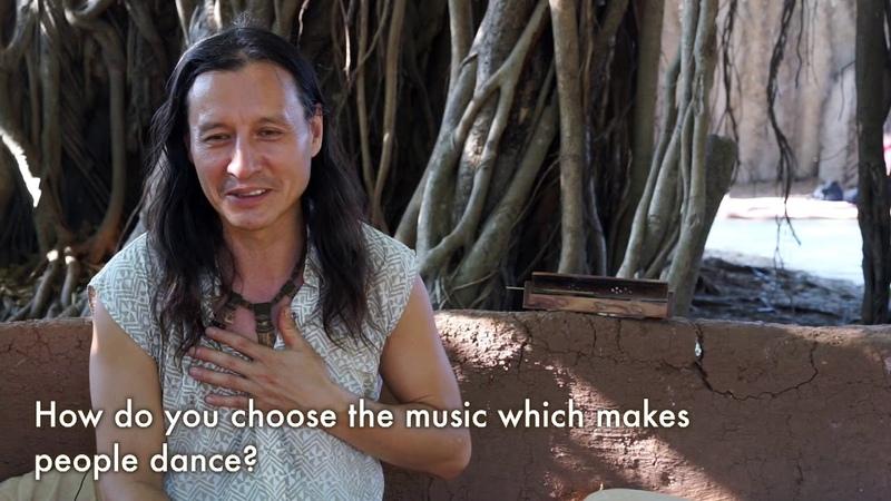 Ecstatic dance From deep inside Interview with dj Benjamin Crystal Goa Arambol 2018
