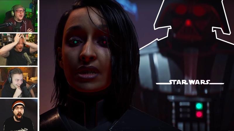 Streamers React To Star Wars Jedi Fallen Order Surprise Ending Star Wars смотреть онлайн без регистрации