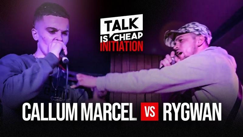 TALK IS CHEAP CALLUM MARCEL VS RYGWAN GRIME CLASH INITIATION TALKISCHEAP GRIME CLASH