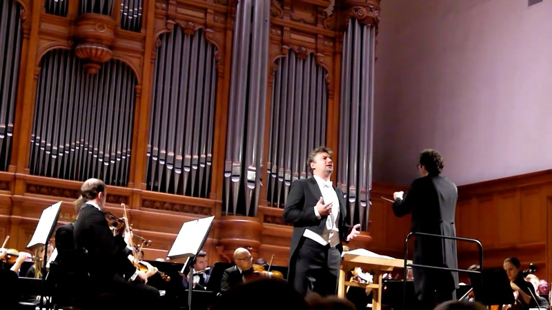 Jonas Kaufmann Concert at the Moscow Conservatory 15 09 2018
